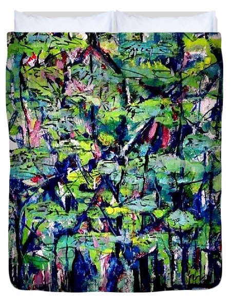Will His Playground Exsist? Duvet Cover