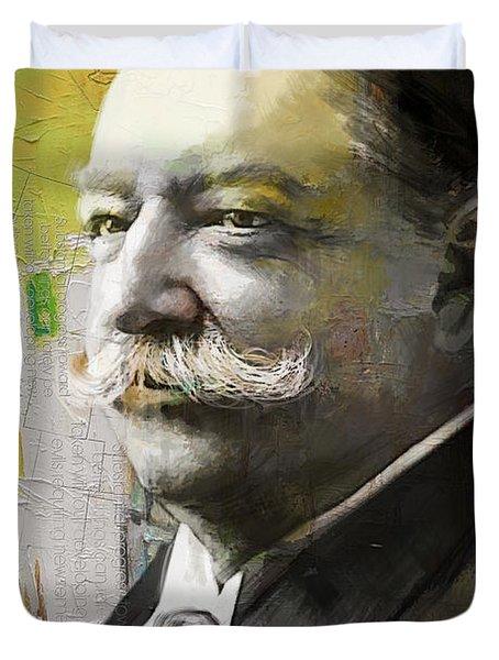 William Howard Taft Duvet Cover by Corporate Art Task Force