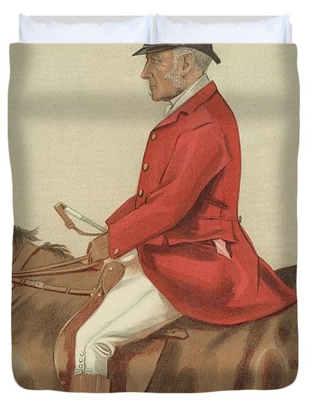 William Ward Tailby Duvet Cover by Sir Samuel Luke Fildes