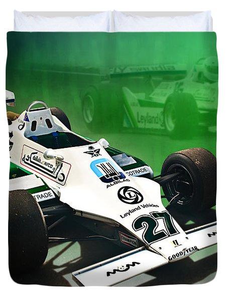 Williams Fw07 04 Duvet Cover