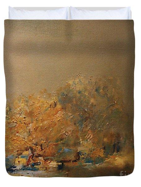 Willows At Noon Duvet Cover