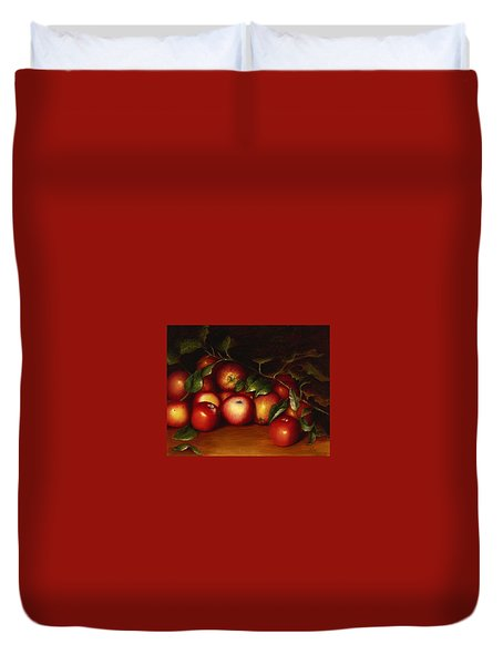 Wilmarth's Apples Duvet Cover