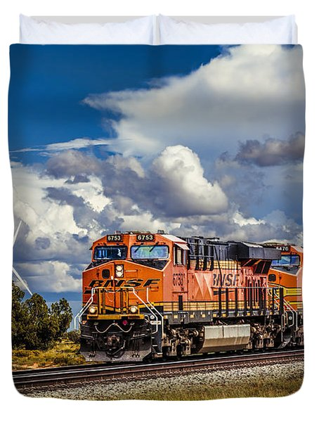 Wind And Rail Duvet Cover