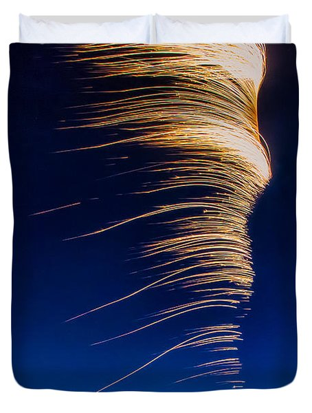Wind As Light Duvet Cover