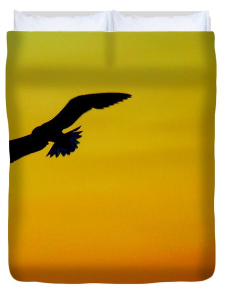 Wind Beneath My Wings Duvet Cover by Frozen in Time Fine Art Photography