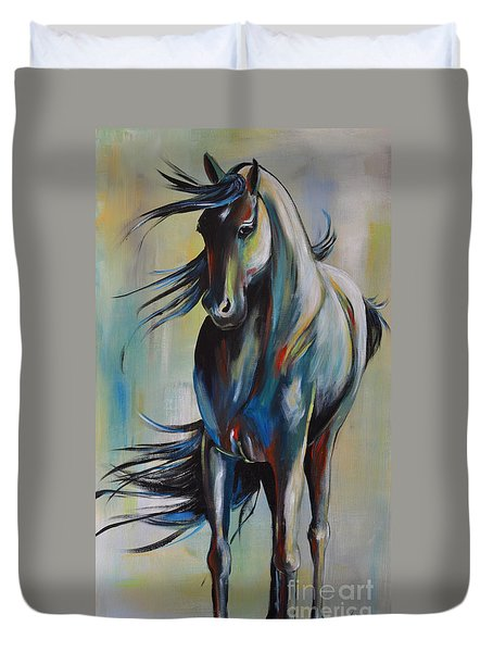 Wind Dancer Duvet Cover