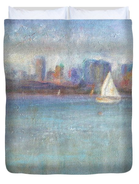 Wind In My Sails Duvet Cover