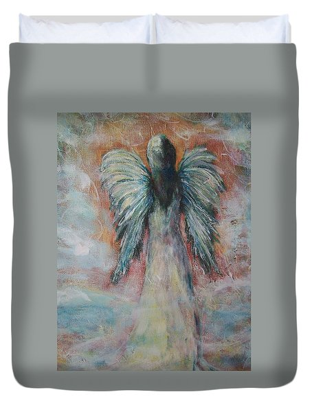 Wind In My Wings, Angel Duvet Cover