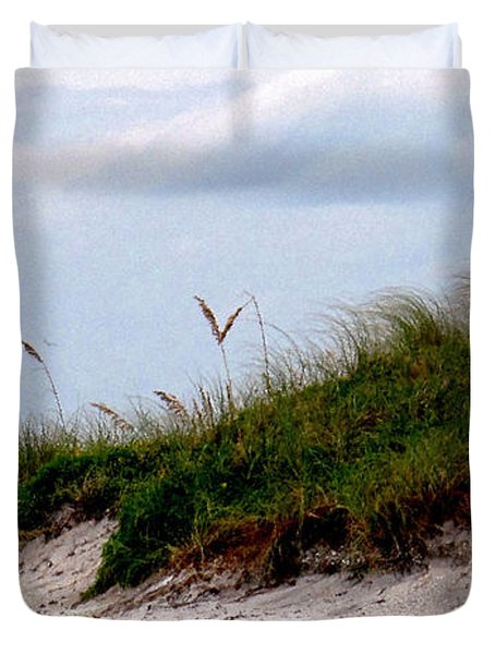 Wind In The Seagrass Duvet Cover by Ian  MacDonald