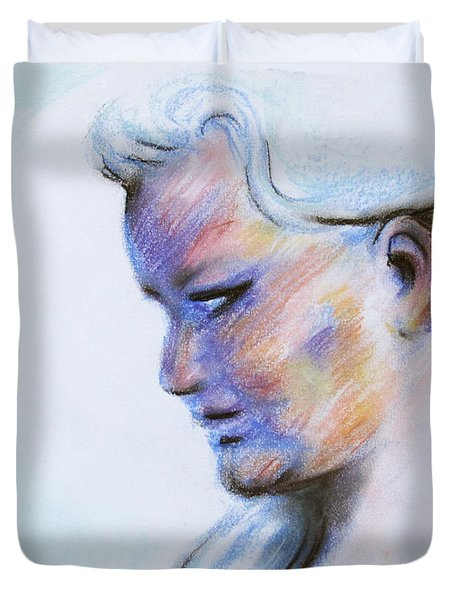 Wind Mother Duvet Cover