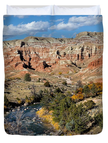 Wind River Country Duvet Cover