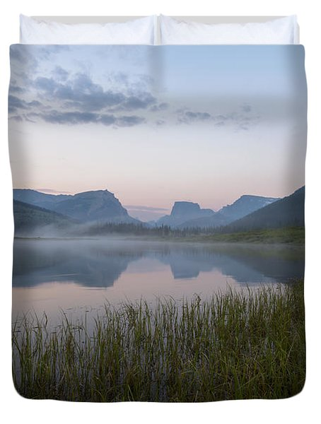 Wind River Morning Duvet Cover
