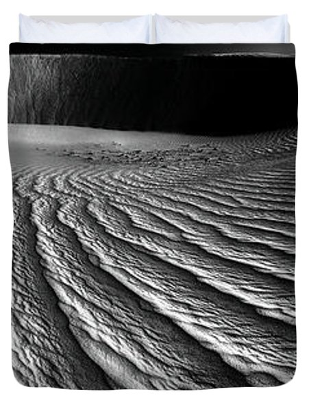 Wind Sand Light And Time Duvet Cover