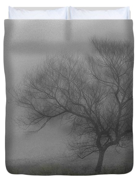 Wind Swept Tree Duvet Cover
