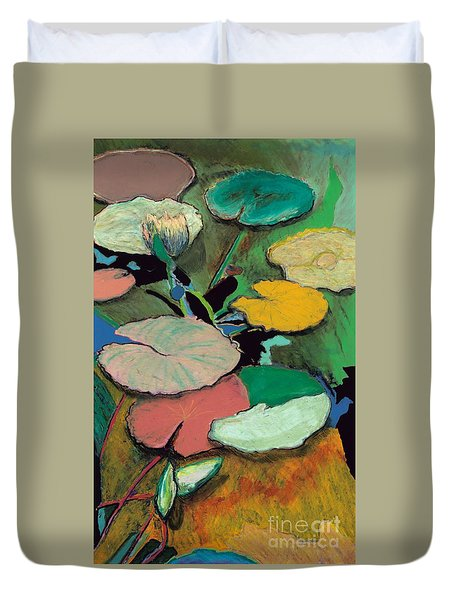 Windchime Spring Duvet Cover by Allan P Friedlander