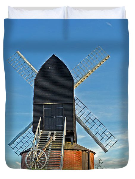 Windmill At Brill Duvet Cover by Tony Murtagh
