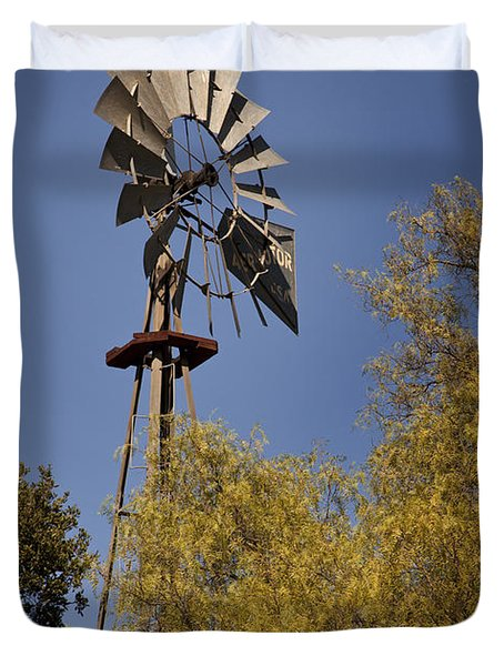 Windmill Duvet Cover by David Millenheft