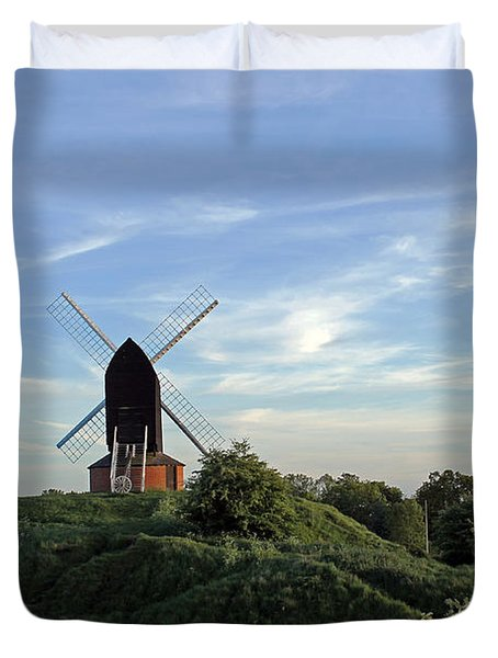 Windmill On Brill Common Duvet Cover
