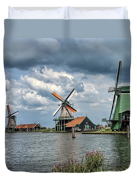 Windmill Trio Duvet Cover