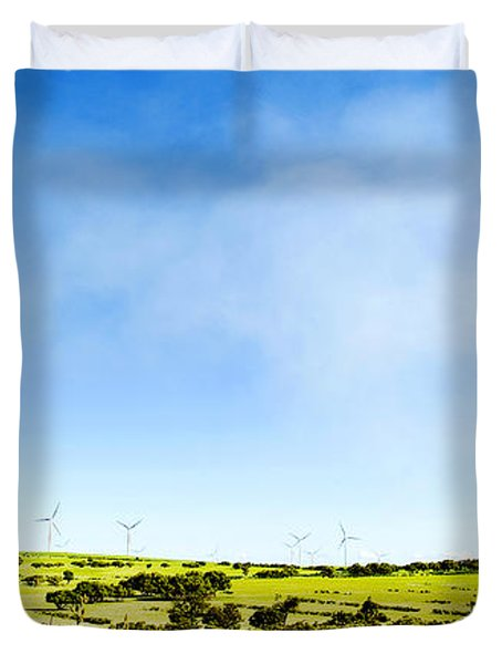 Windmill Duvet Cover by Yew Kwang