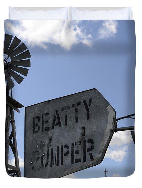 Windmills 1 Duvet Cover by Bob Christopher