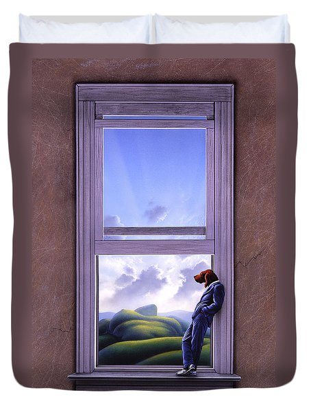 Window Of Dreams Duvet Cover