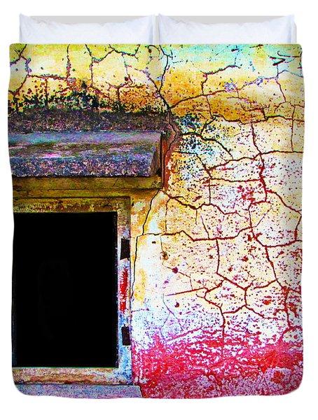 Window Of Opportunity Duvet Cover