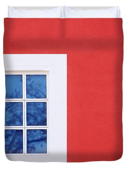 Window Piece Duvet Cover