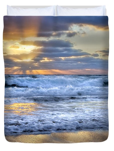Window To Heaven Duvet Cover