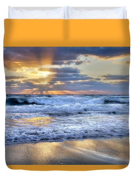 Window To Heaven Duvet Cover
