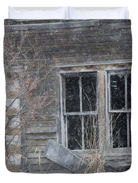 Window To The Old Soul Duvet Cover
