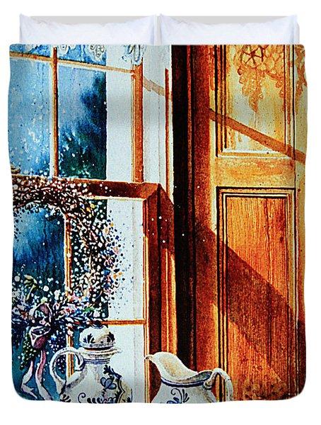 Window Treasures Duvet Cover