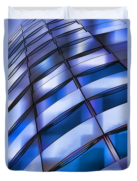 Windows In The Sky Duvet Cover