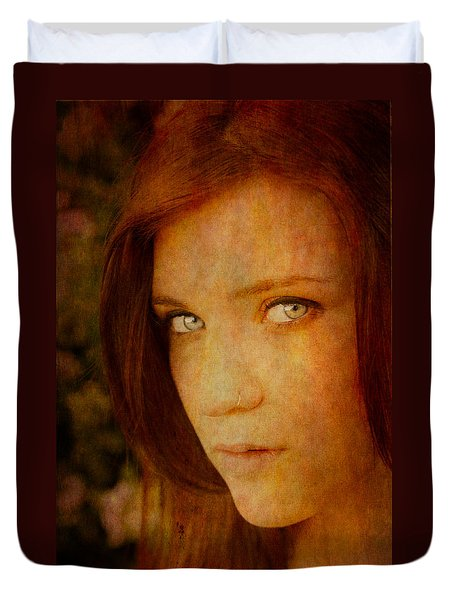 Windows To The Soul Duvet Cover by Loriental Photography