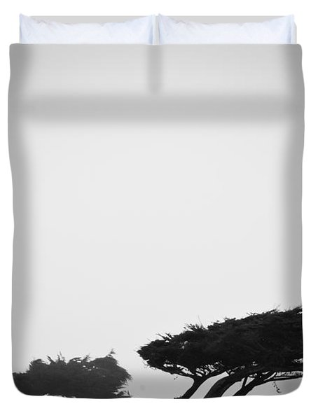 Windswept Shoreline Duvet Cover