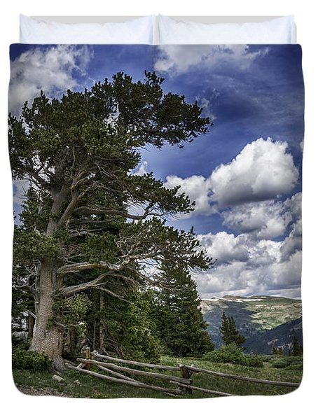 Windy Ancients Duvet Cover