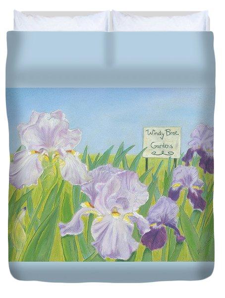 Windy Brae Gardens Duvet Cover
