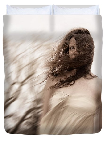 Windy Duvet Cover by Margie Hurwich