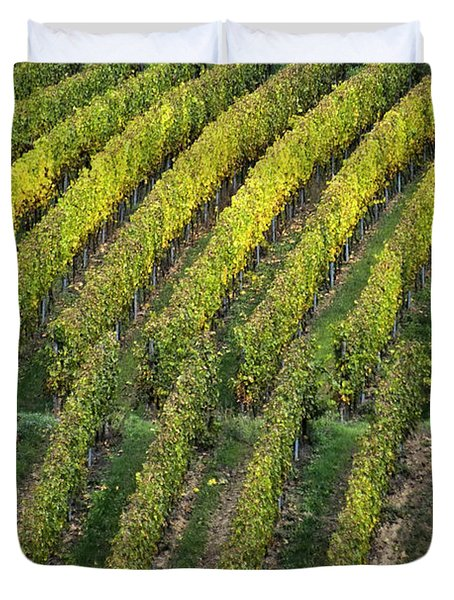Wine Acreage In Germany Duvet Cover by Heiko Koehrer-Wagner