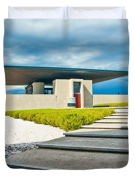 Winery Modernism Duvet Cover