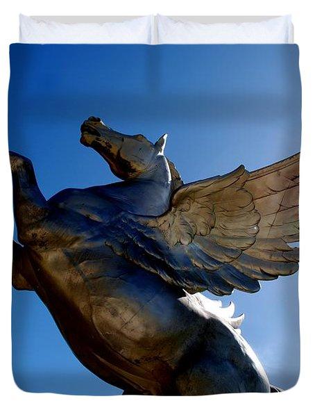 Winged Wonder I Duvet Cover
