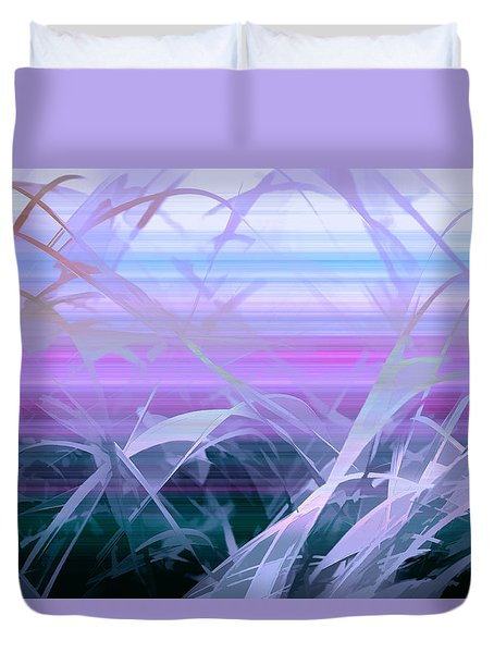 Duvet Cover featuring the photograph Wings by Holly Kempe
