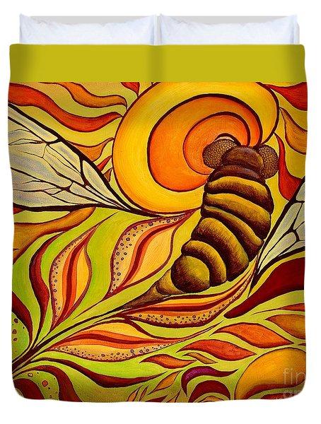 Wings Of Change Duvet Cover