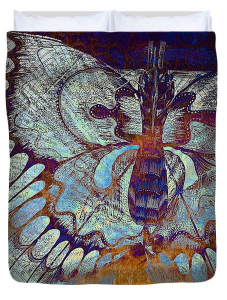 Wings Of Destiny Duvet Cover