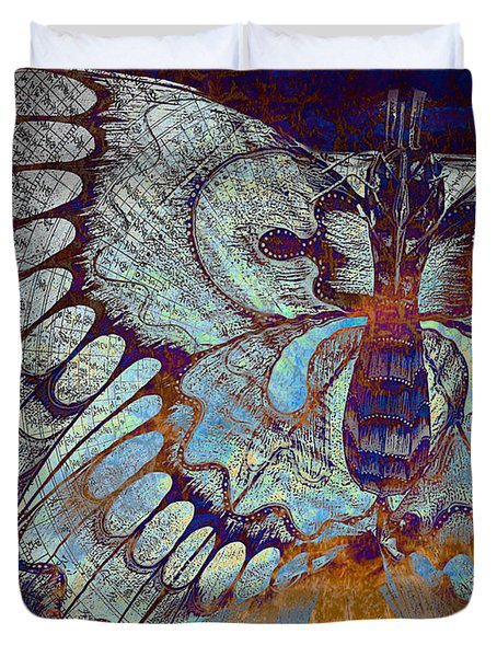 Wings Of Destiny Duvet Cover
