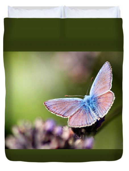Wings Of Tenderness Duvet Cover by Martina  Rathgens