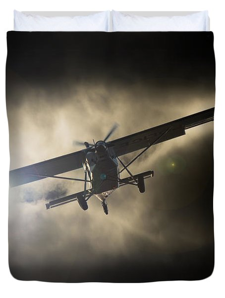 Duvet Cover featuring the photograph Wings by Paul Job