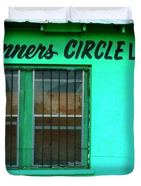 Winner's Circle Lounge Duvet Cover
