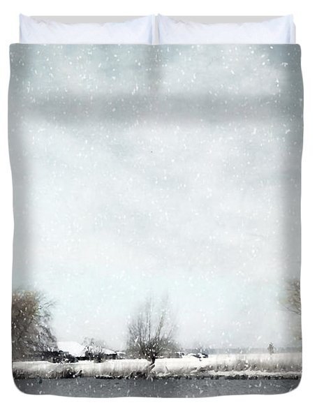 Winter Duvet Cover by Annie Snel