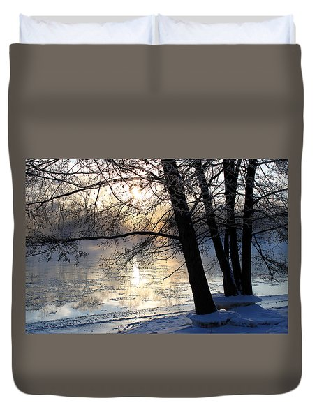 Winter Ballet Duvet Cover by Hanne Lore Koehler